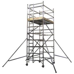 Double width scaffolding